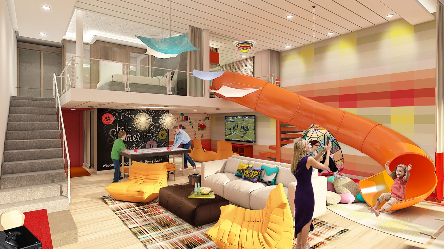 The Ultimate Family Suite on RCI's Symphony of the Seas