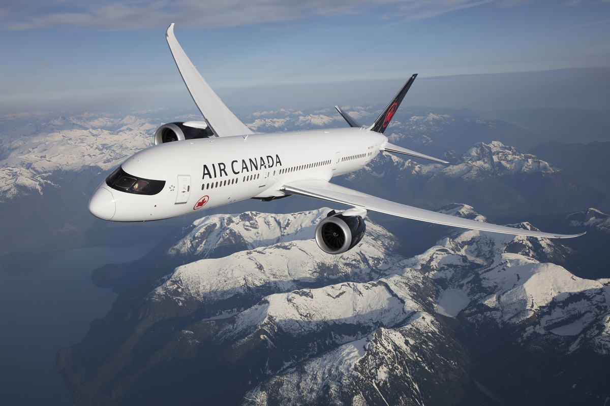 Air Canada's B787 Dreamliner