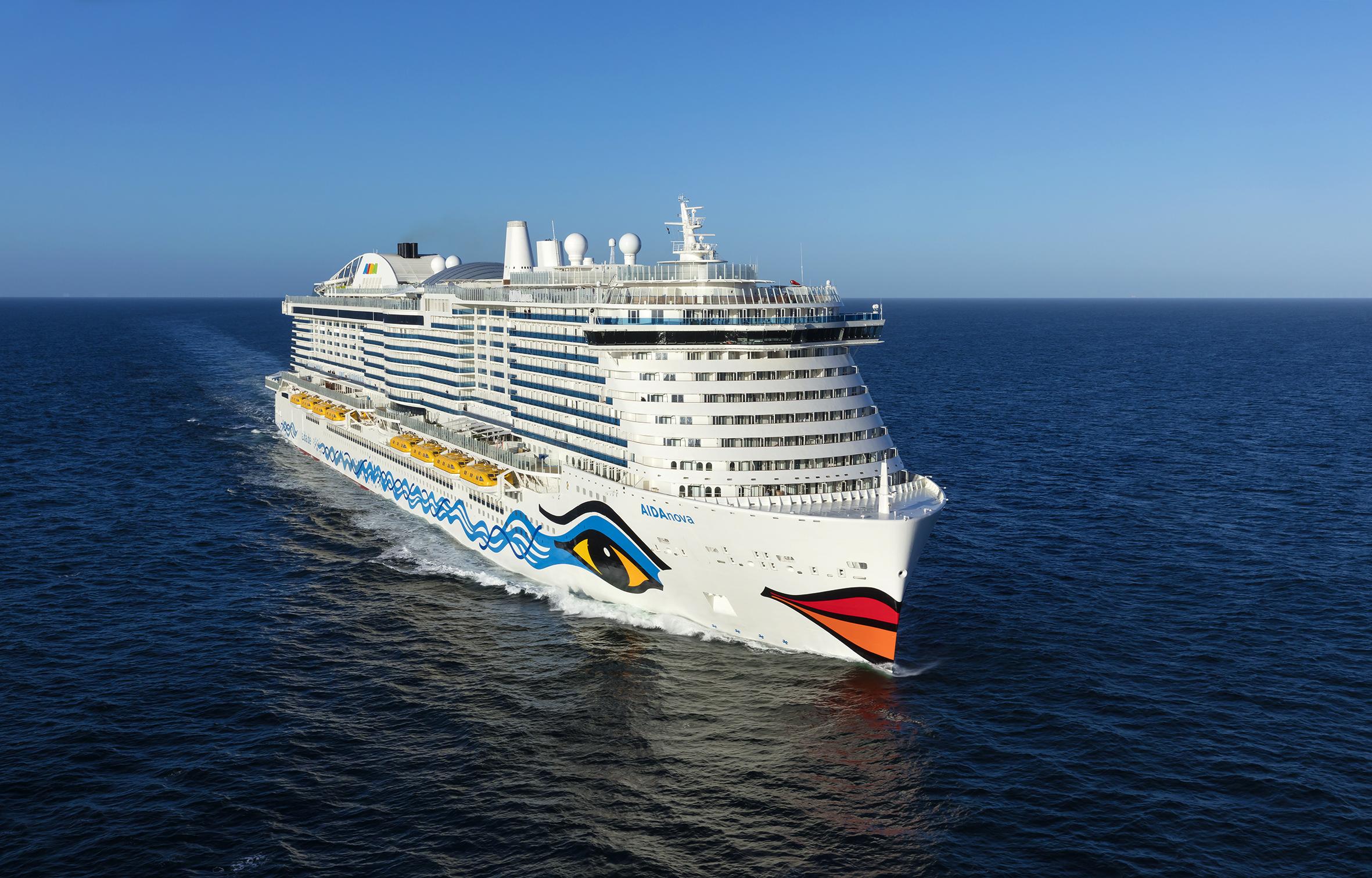 AIDANova, the world's first fully LNG-powered cruise ship