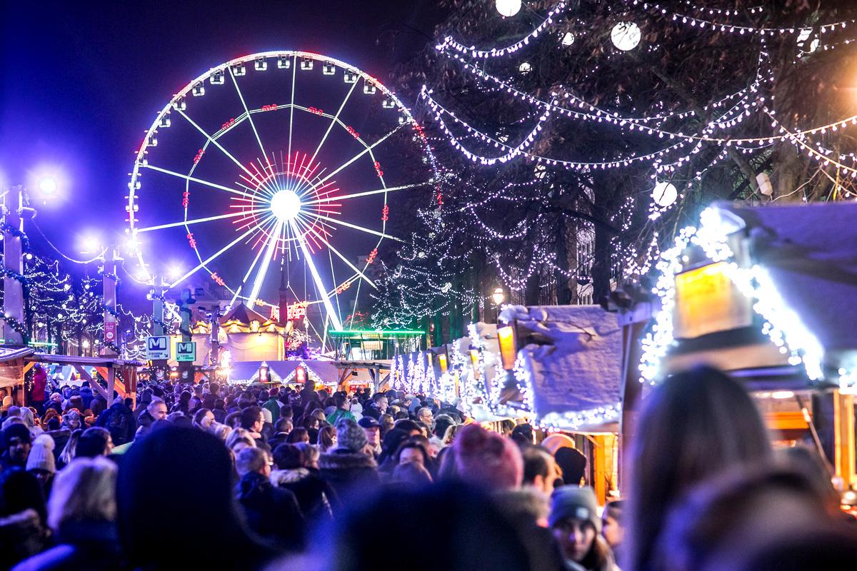 Le marché Plaisirs d'Hiver de Bruxelles / Crédit photo: Eric Danhier