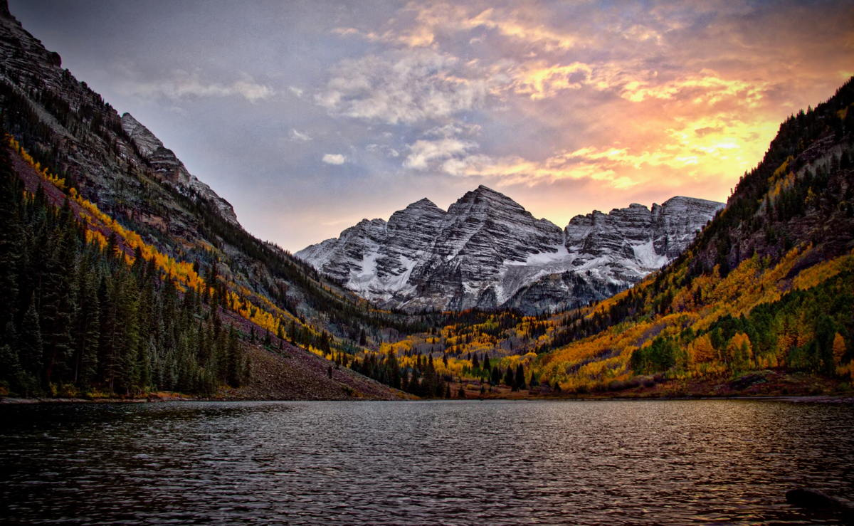 Colorado's Maroon Bells. More than 190,000 Canadians visited Colorado last year. Photo by Mike Scheid.