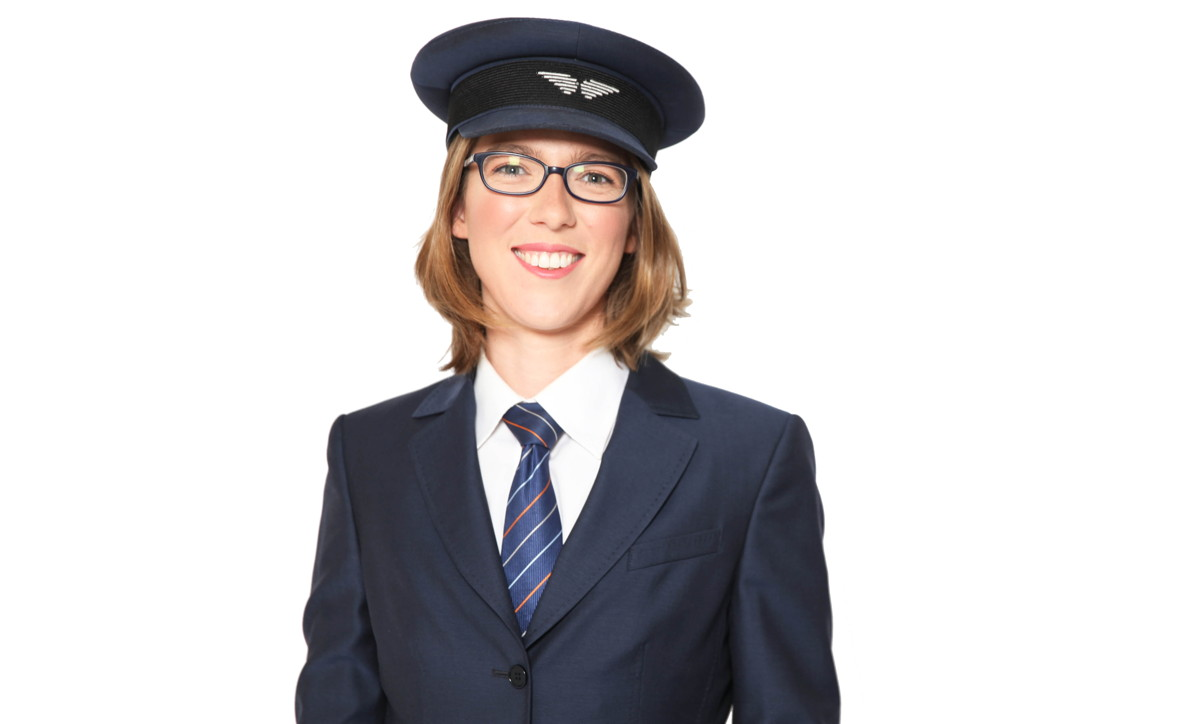 Ever since she saw Peter Pan soar through Wendy's bedroom window, Claire Lemiski knew she wanted to fly too. Photo: Porter Airlines