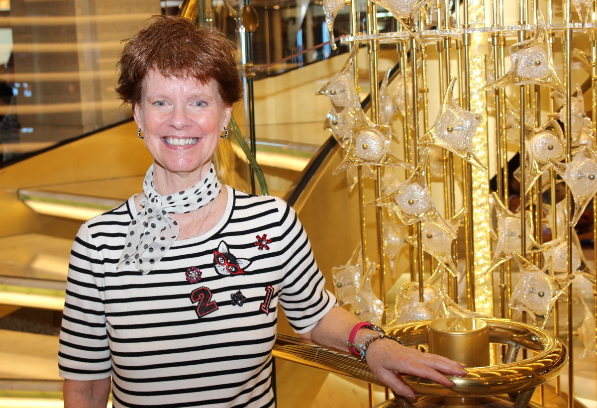 Heidi Olson of the Cruise Lines International Association (CLIA) delivered a Symposium at Sea masterclass.
