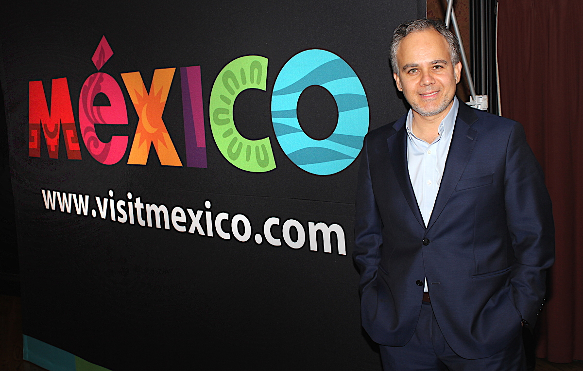 Cesar Mendoza, regional director at the Mexico Tourism Board in Toronto.
