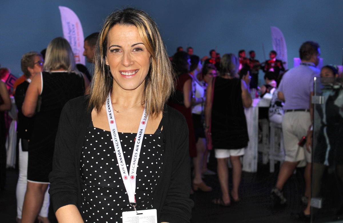 Erminia Nigro, general manager, sales for Ontario and national accounts, Air Canada Vacations.