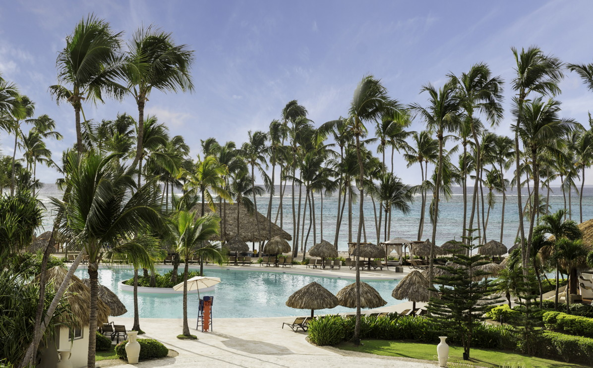 DIVE IN. Pristine pool and beach areas are waiting for you at Club Med Punta Cana. Photo courtesy of Club Med.