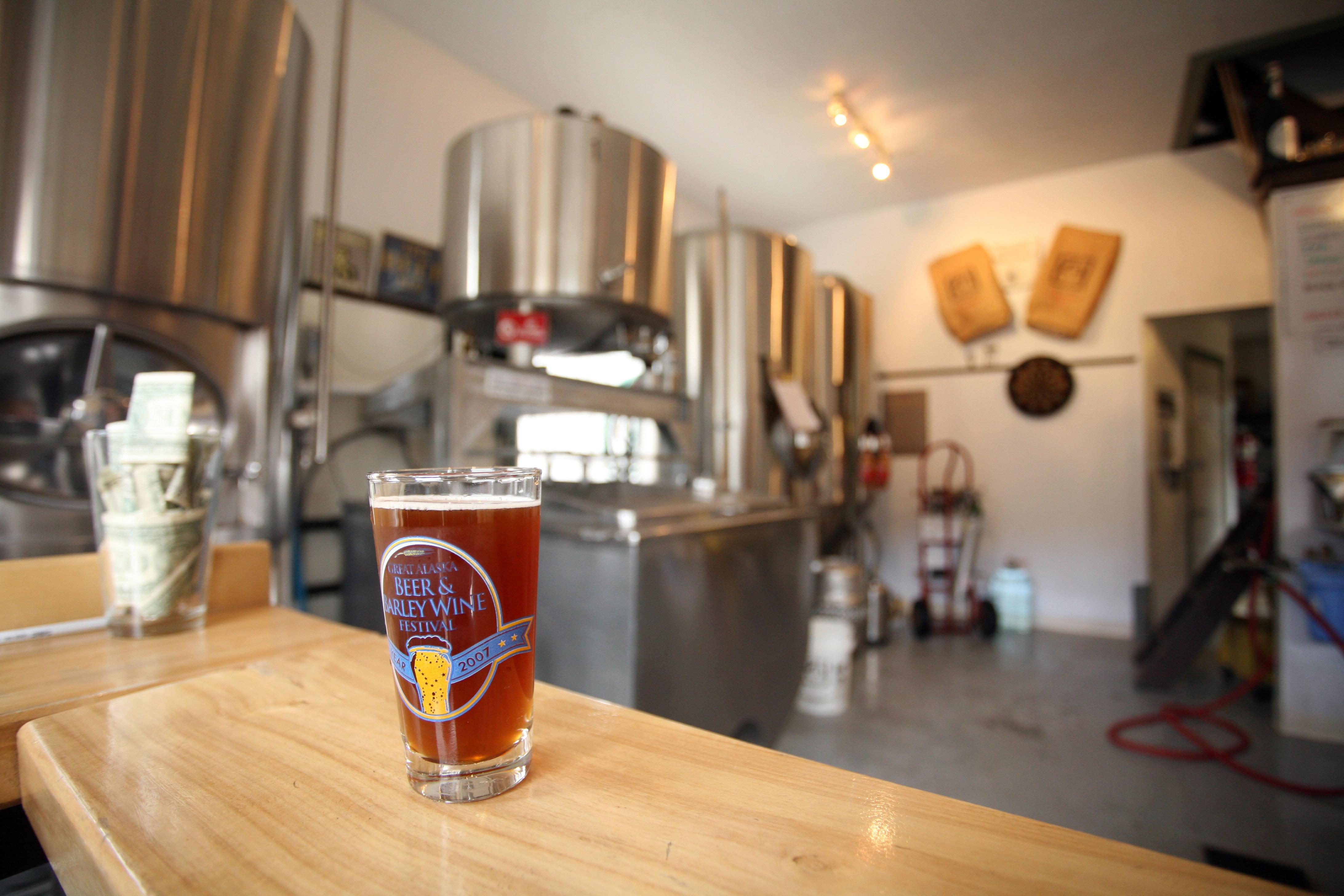 Inside Alaska's Haines Brewery