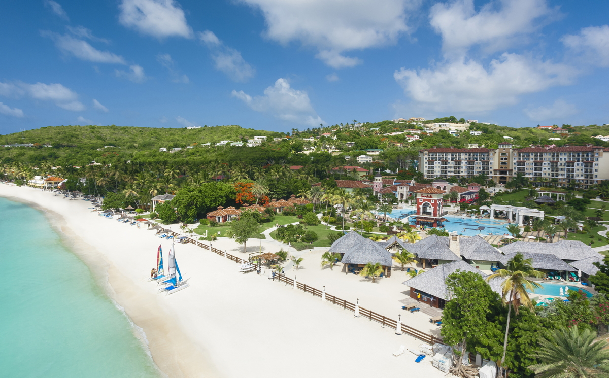 Sandals Grande Antigua. Courtesy of Sandals Resorts.
