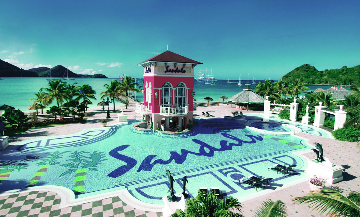Sandals Grande St. Lucian. Courtesy of Sandals Resorts.