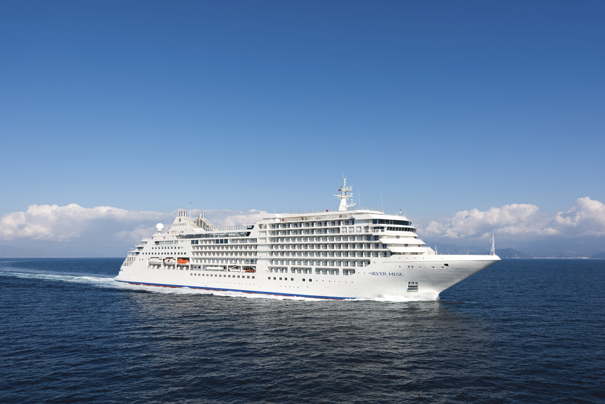Silver Muse (Courtesy of Silversea Cruises)