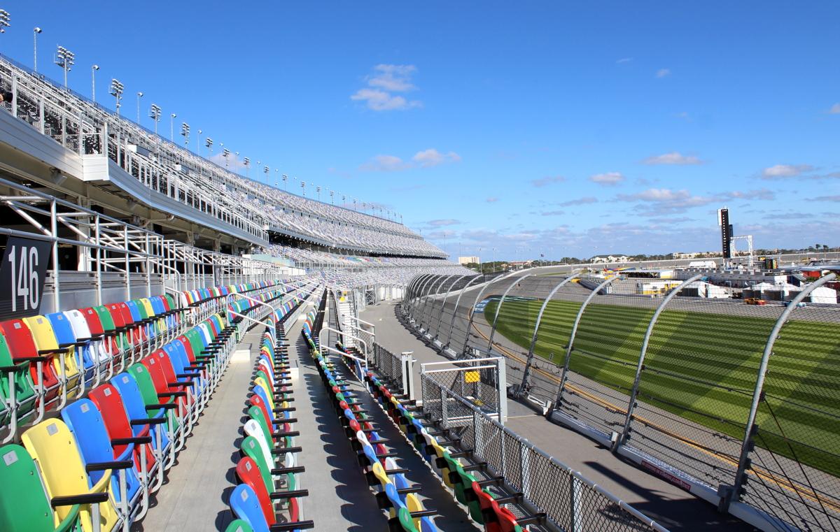 The Daytona International Speedway underwent a $400 million dollar upgrade in 2016.