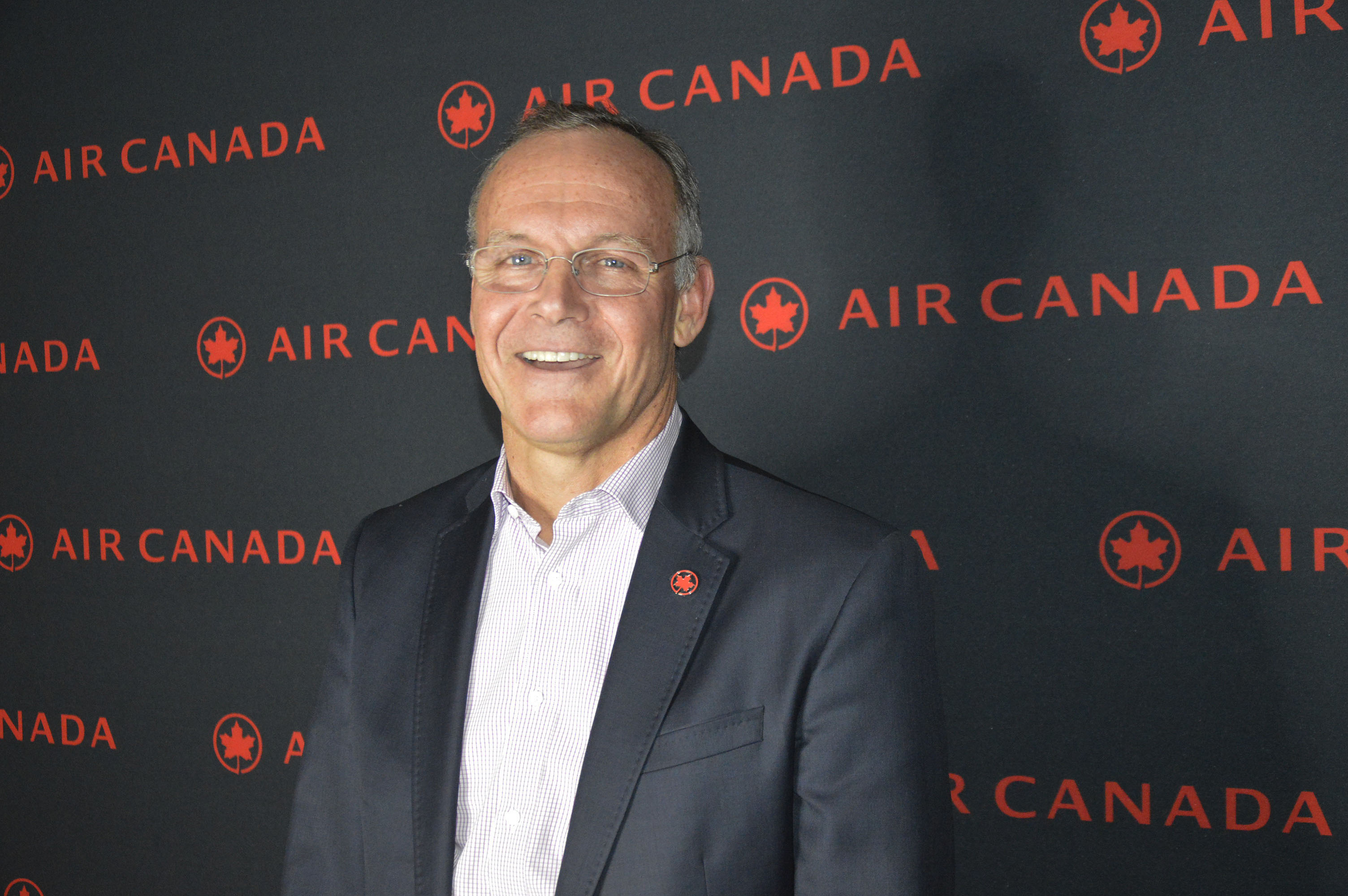John MacLeod, VP of global sales & alliances, Air Canada