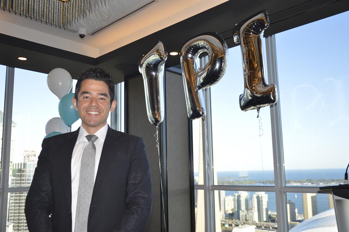 Colton Chia, TPI's director of partnerships