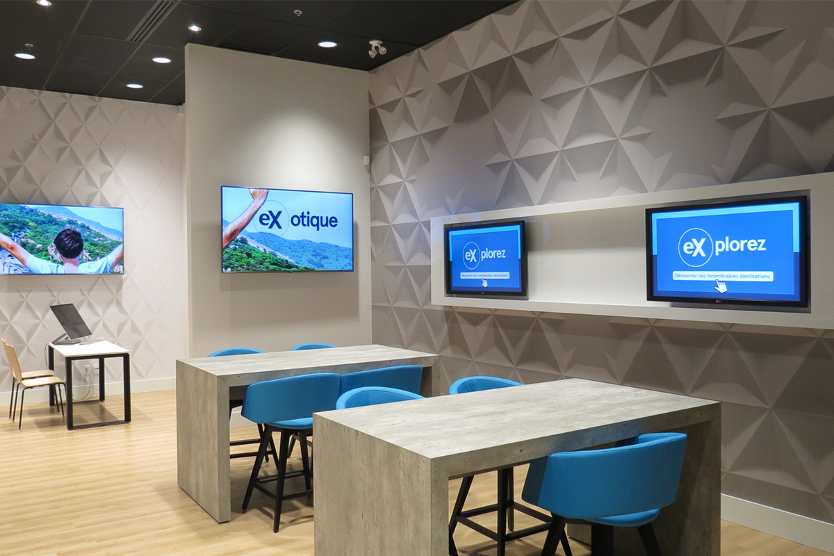 Ex by Voyages Transat is a testing ground for TDC's latest agency innovations.
