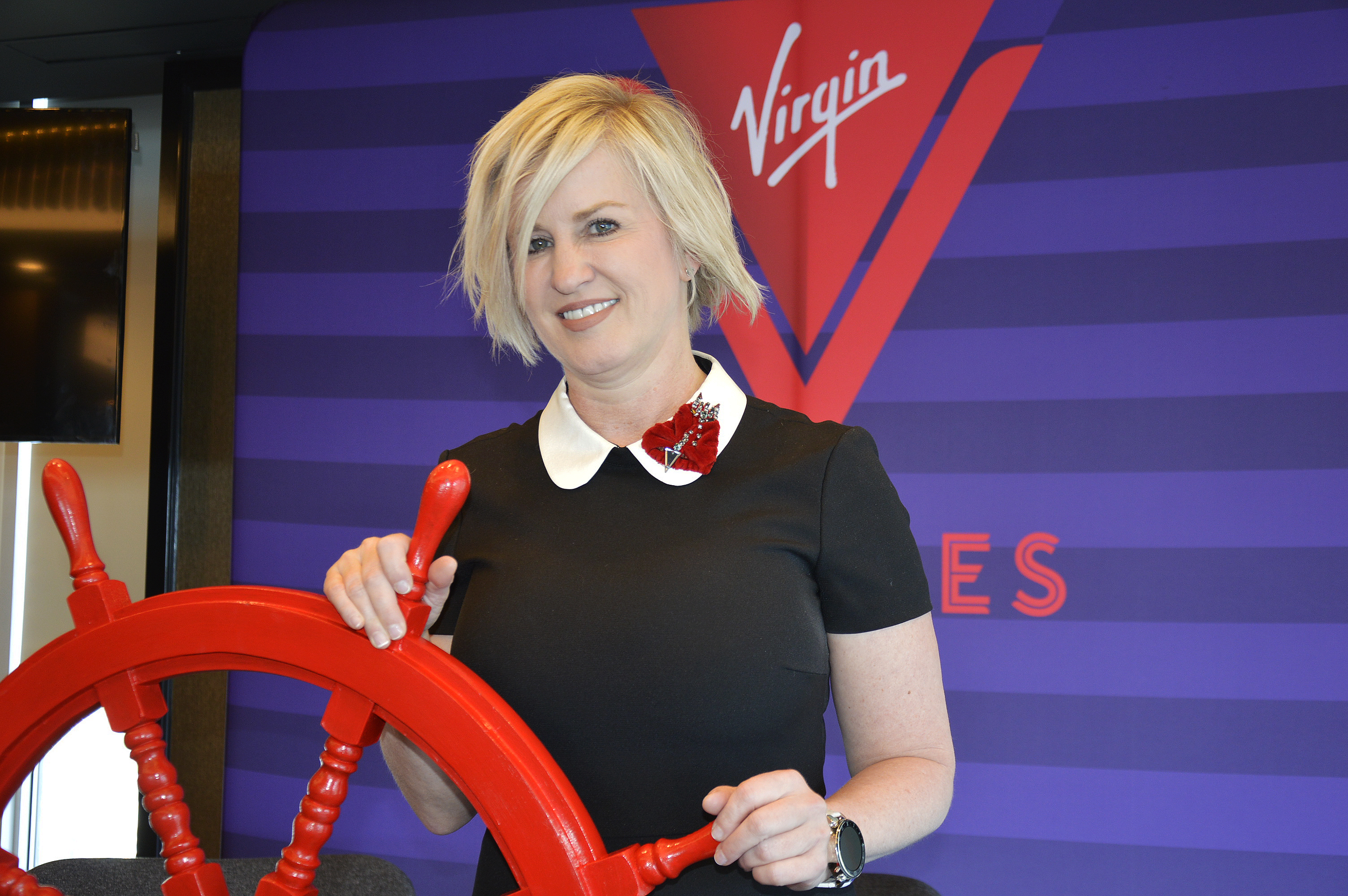 Stacy Shaw, Virgin Voyages' VP of sales and business development