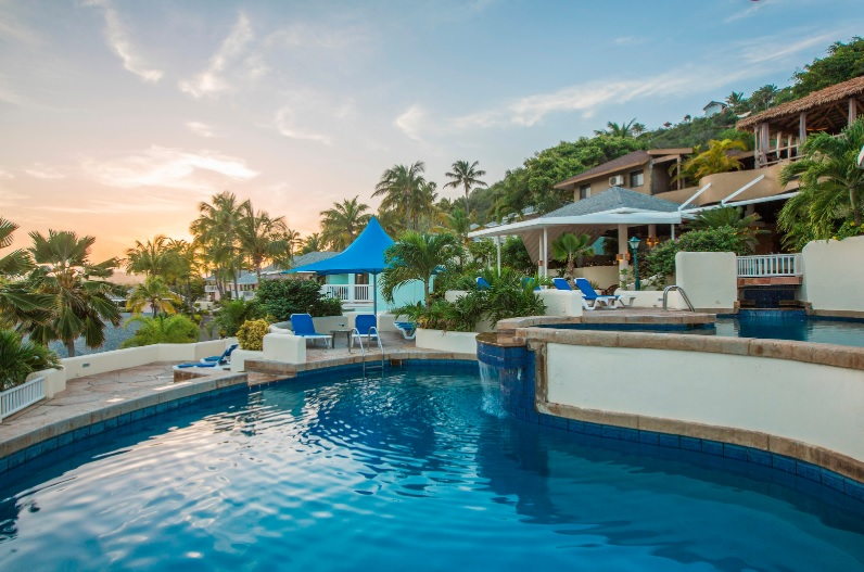 St. James's Club and Villas has a designated adults-only pool for Royal guests.