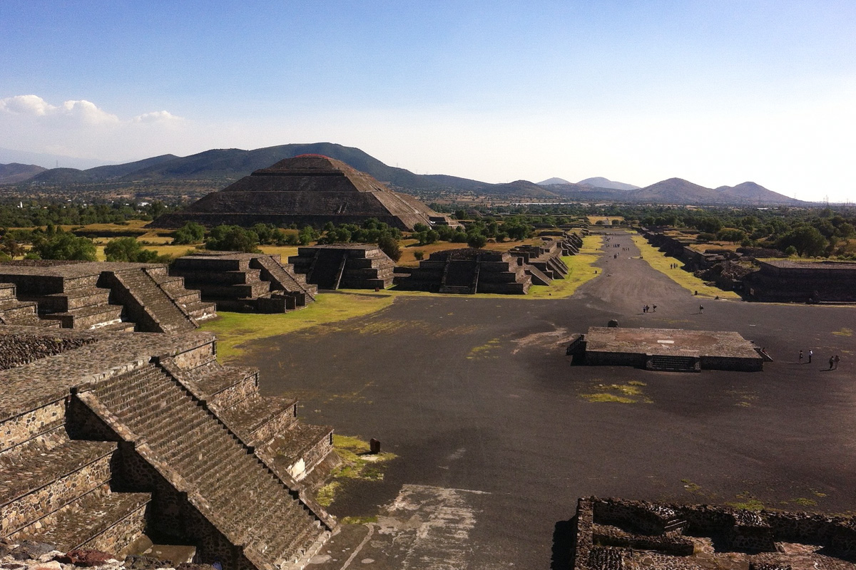 Teotihuacan, a short drive from Mexico City