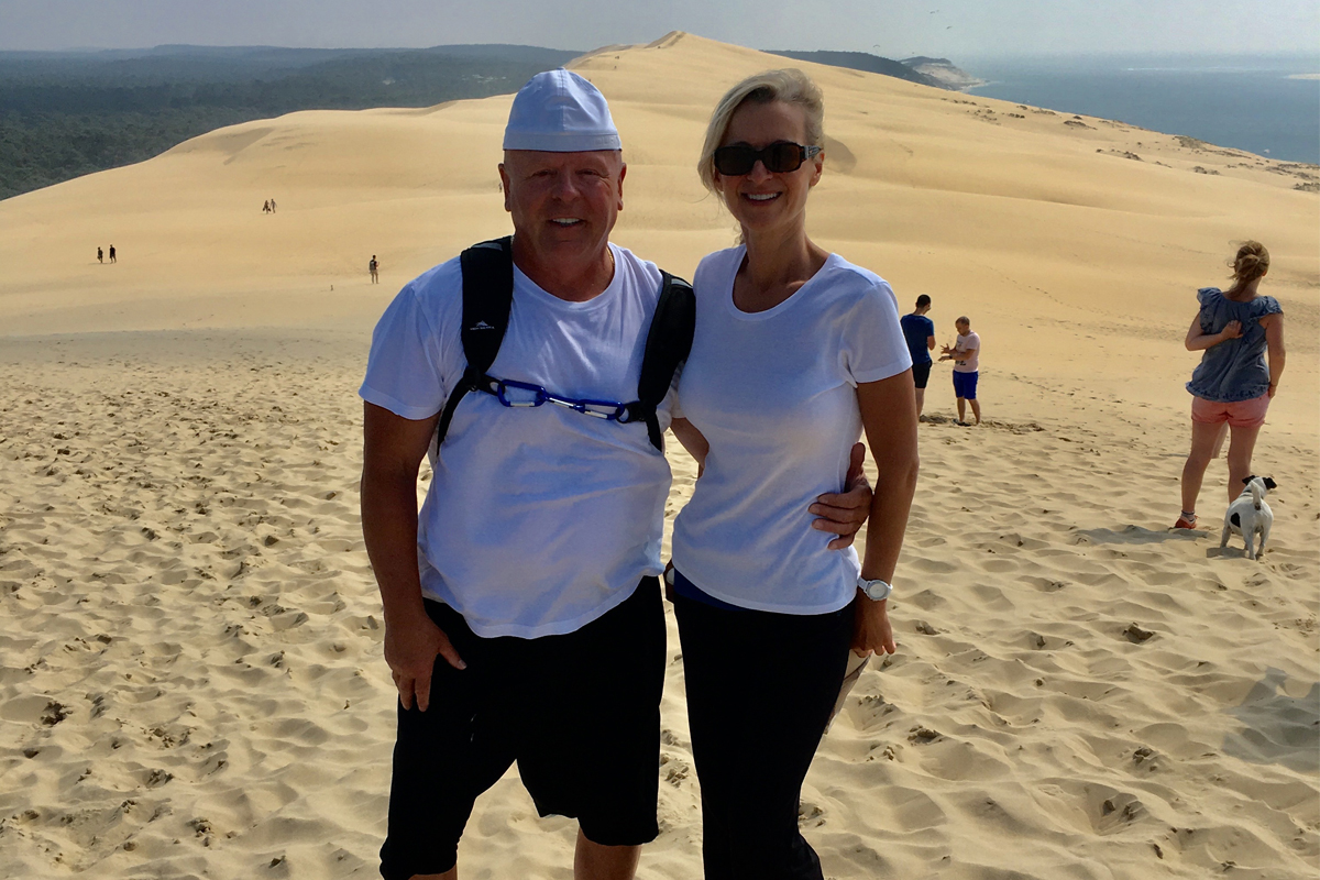 Ronny and Mary Tereshyn of 510 Travel