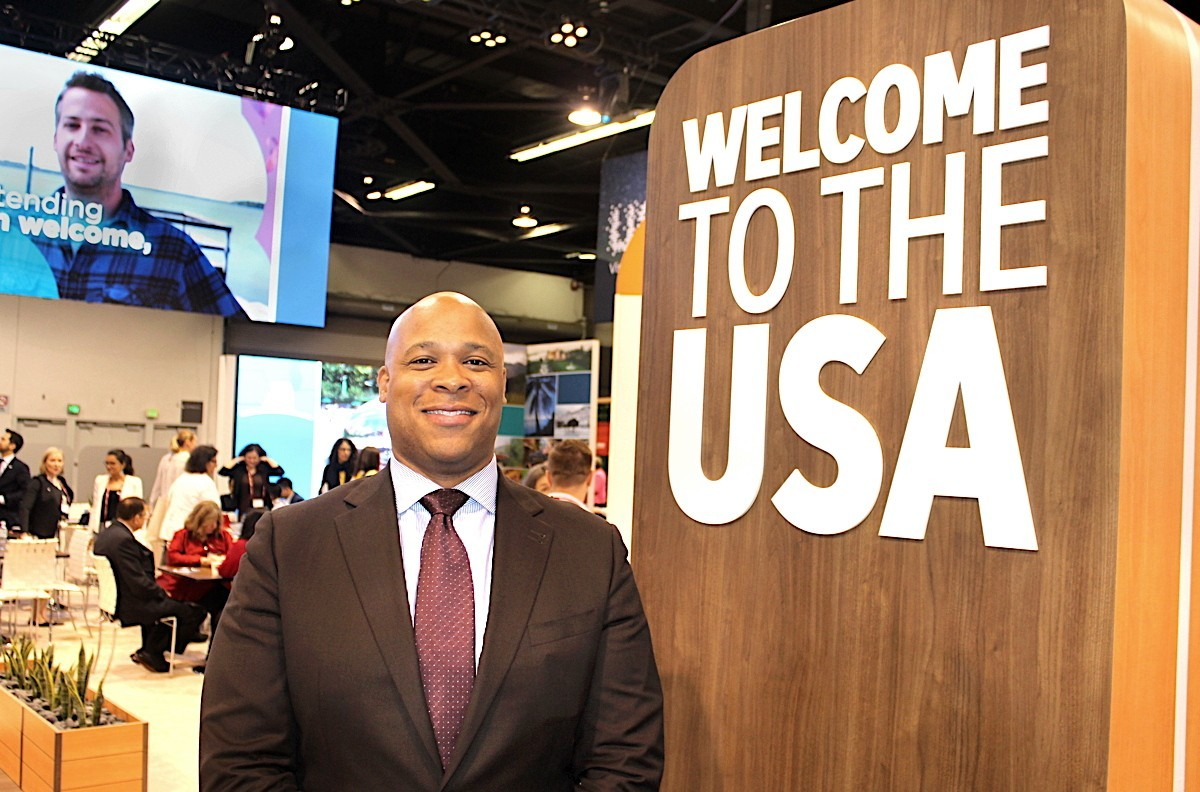 "BIG WELCOME. Brand USA's Colin Skerritt wants ""re-invigorate"" the way the U.S. is marketed in Canada."