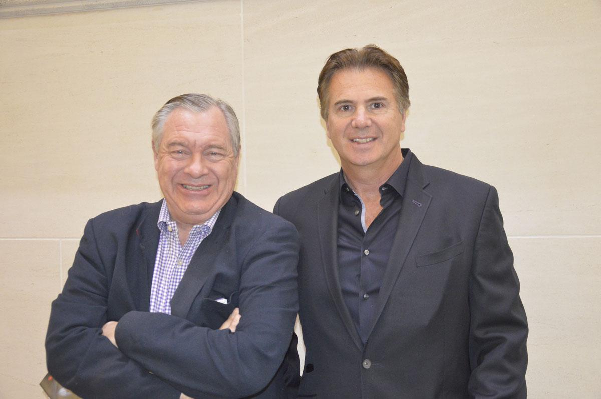 Of Visit Phoenix: Douglas MacKenzie, director – media relations (left) & Ian Tillson, media representative