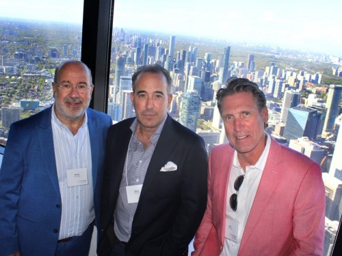 Softvoyage celebrates 20 years, 346 metres high in the sky