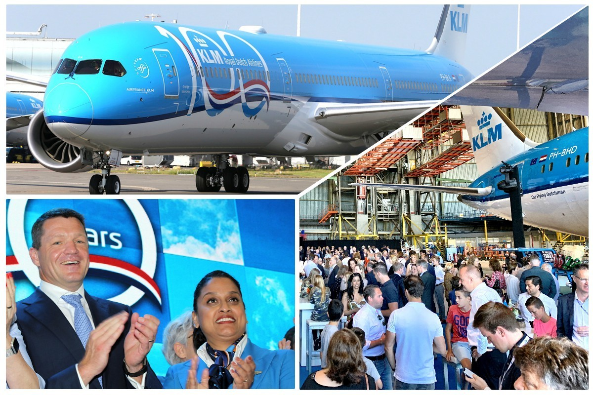 PAX On Location: KLM welcomes 787-10, begins 100th anniversary countdown