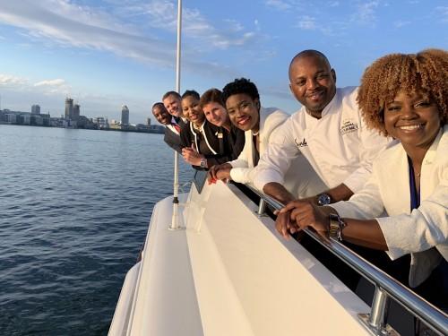 """Sandals hosts agents on Gordon """"Butch"""" Stewart's yacht in Toronto"""