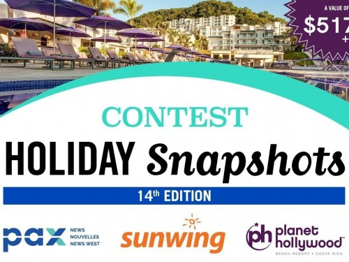 Submit your travel photos today for a chance to win a vacation to Costa Rica!