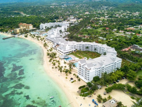 Completed renovations at Riu Ocho Rios include a new water park