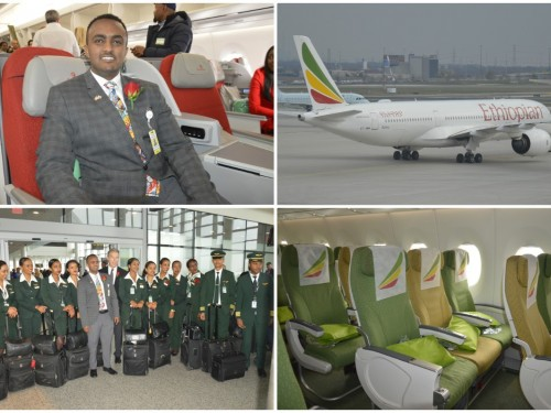 Ethiopian Airlines' new A350 takes flight