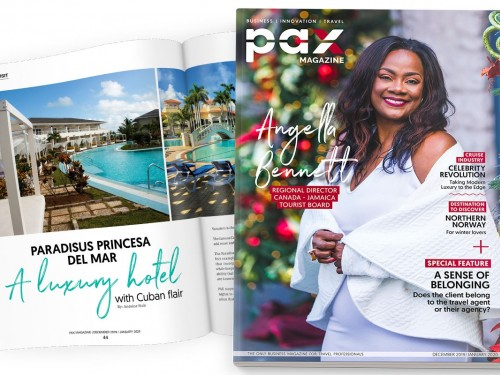 The JTB's Angella Bennett graces the cover of the latest PAX magazine