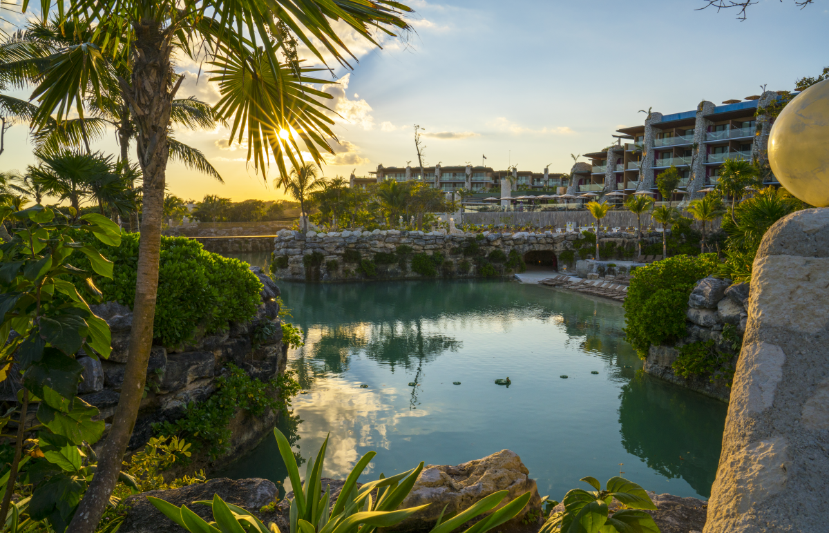 VIDEOTORIAL: Hotel Xcaret Mexico in Riviera Maya, nestled along the Caribbean Sea