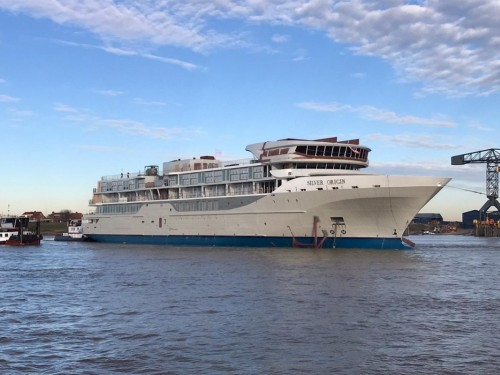 Silversea welcomes its first-ever Galapagos ship